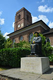 Statue of Thomas More. Born in London, England, in 1478, Thomas More's 1516 book Utopia was the forerunner of the utopian literary genre. More served as an Stock Images
