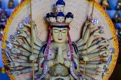 Statue of Thousand-Hand Quan Yin Bodhisattva. In Thailand Stock Image