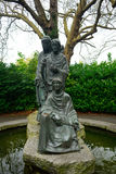 Statue of the Three Fates in St. Stephen`s Green, Dublin, Irelan. Statue of the Three Fates in St. Stephen`s Green in Dublin, Ireland Stock Image