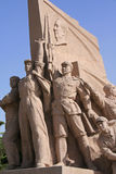 Statue - Tiananmen Square - Beijing - China Stock Photography