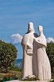 Statue in Tihany, Hungary Stock Images