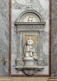 Statue titled `Joannem Card.Simor`, interior Esztergom Basilica, Esztergom, Hungary royalty free stock photography