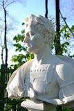 Statue of Titus Flavius Vespasianus. The Roman emperor. Royalty Free Stock Photos