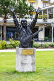Statue to Carlos Santana, Montreux Royalty Free Stock Photos