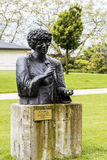 Statue to Ella Fitzgerald in Montreux Stock Photos