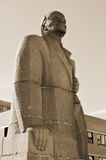Statue to Lenin Stock Photography