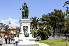 Statue to Marshal Andre Massena in Nice Royalty Free Stock Photography