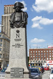Statue to Napoleon Bonaparte in Warsaw Royalty Free Stock Photography