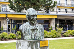 Statue to Quincy Jones in Montreux Royalty Free Stock Photography