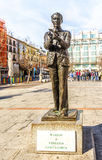 Statue to Spanish poet  Federico Garcia Lorca in Madrid Stock Photography