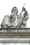 Statue of Torricelli, barometer inventor Stock Photos