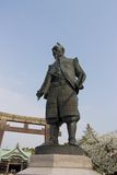 Statue of Toyotomi Hideyoshi Royalty Free Stock Photography