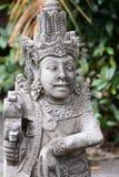 Statue traditionnelle dans Tirta Empul Tampaksiring Régence de Gianyar bali l'indonésie photographie stock