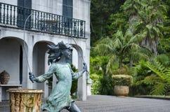 Statue, Tree, Monument, Sculpture stock photo