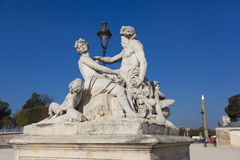 Statue in the Tuilleries, Paris Royalty Free Stock Image