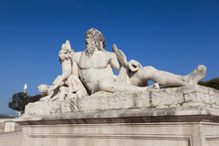 Statue in the Tuilleries, Paris Royalty Free Stock Images