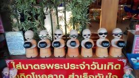 Statue turistiche Fotografie Stock