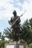 Statue of Turkish infantry man Stock Photos