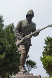 Statue of Turkish infantry man Royalty Free Stock Photo
