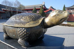 Statue of turtle Royalty Free Stock Photos