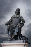 Statue in Tuscany, Italy. Statue in Lucca Tuscany, Italy Royalty Free Stock Photos