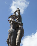 Statue at Two Lovers Point In Guam Royalty Free Stock Image