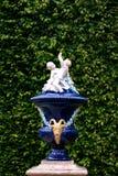 Porcelain Cherubs at Linderhof Palace stock photography