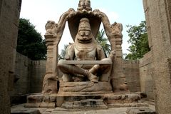 Statue of Ugranarasimha Stock Photos