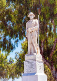 Statue of the Unknown Soldier In the centre of Eleftherias Squar Stock Photography