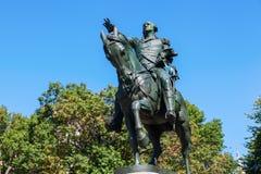 Statue of US President George Washington at Union Square, Manhattan, NYC Stock Photography