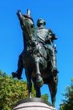 Statue of US President George Washington at Union Square, Manhattan, NYC Royalty Free Stock Image