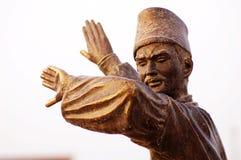 Statue of Uyghur dancer Royalty Free Stock Photo