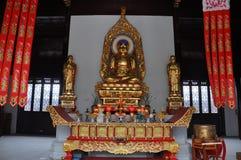 Statue of Vairocana Buddha in Pilu Temple, Nanjing Royalty Free Stock Image