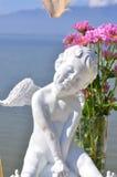 Statue Valentine de cupidon Photo libre de droits