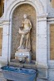 statue vatican de fontaine de ville Image libre de droits