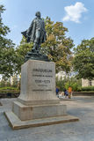 Statue of Vauquelin Royalty Free Stock Photography