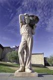 Statue vendimiador Stock Photos