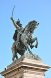 Statue in Venedig Stockfotografie