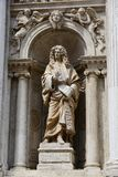 Statue of the venetian noble Giovanni Maria Barbaro Royalty Free Stock Photography