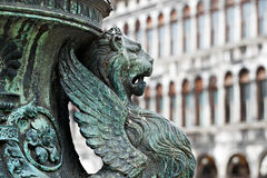 Statue in Venice Stock Photos