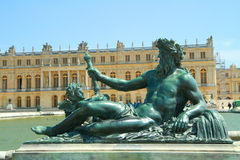 A statue in versailles Royalty Free Stock Photos