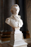 Statue in Versailles Castle. Statue inside the Royal Palace of Versailles, Paris stock image
