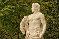 Statue in the Versailles Palace park Stock Images