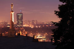 Statue of Victor, Belgrade, Serbia Royalty Free Stock Image