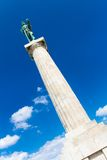 Statue of the Victor, Belgrade, Serbia. Royalty Free Stock Photography
