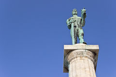Statue of the Victor or Statue of Victory Royalty Free Stock Image