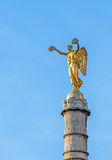Statue of Victory atop the Fontaine вг Palmier (1806-1808), Pa Royalty Free Stock Image