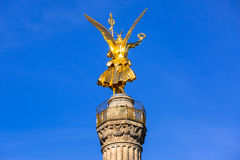 Statue on the Victory Column in Berlin Stock Photos