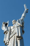 Statue of victory in Kiev Stock Photo