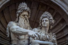 Statue in Vienna Royalty Free Stock Photo